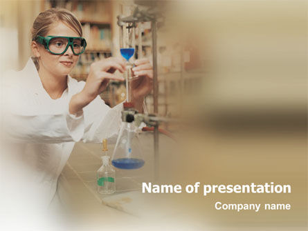Technology and Science: Chemistry Explorer PowerPoint Template #01846