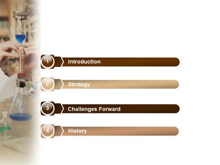 Chemistry Explorer PowerPoint Template Slide 3