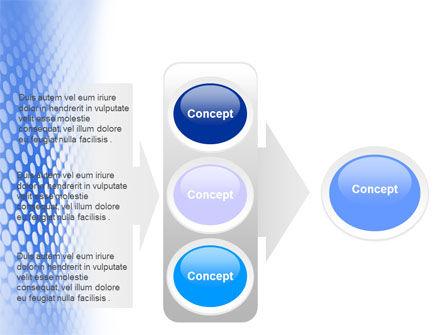 Blue Grid PowerPoint Template Slide 11