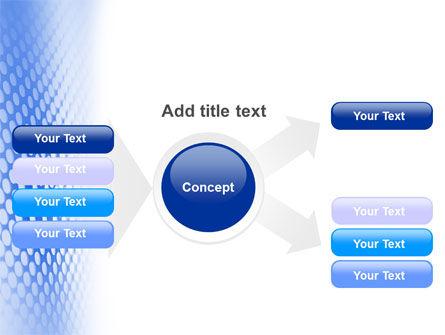Blue Grid PowerPoint Template Slide 14