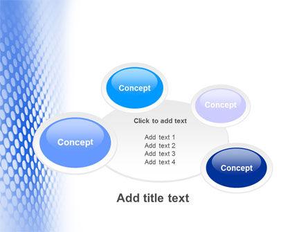 Blue Grid PowerPoint Template Slide 16