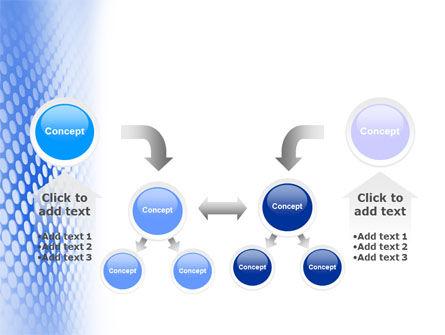 Blue Grid PowerPoint Template Slide 19