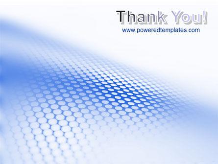 Blue Grid PowerPoint Template Slide 20