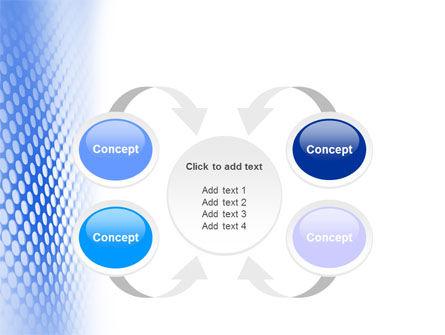 Blue Grid PowerPoint Template Slide 6