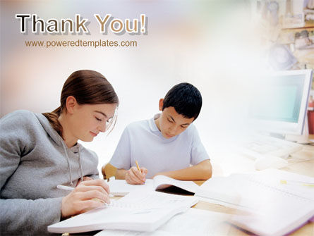 Homework PowerPoint Template Slide 20