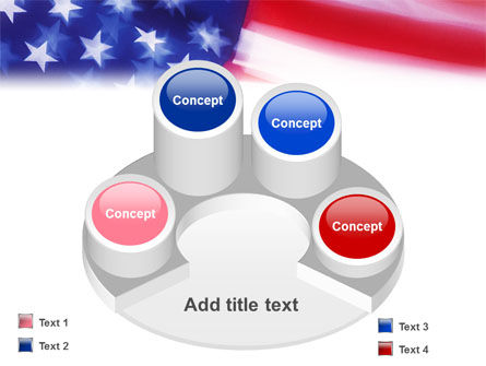 Flag of the United States of America PowerPoint Template Slide 12