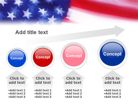 Flag of the United States of America PowerPoint Template Slide 13