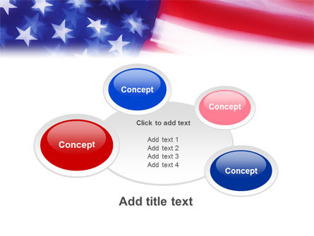 Flag of the United States of America PowerPoint Template Slide 16