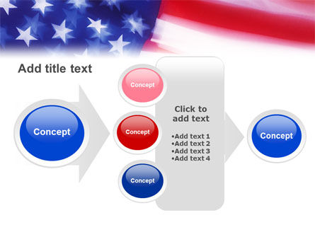 Flag of the United States of America PowerPoint Template Slide 17