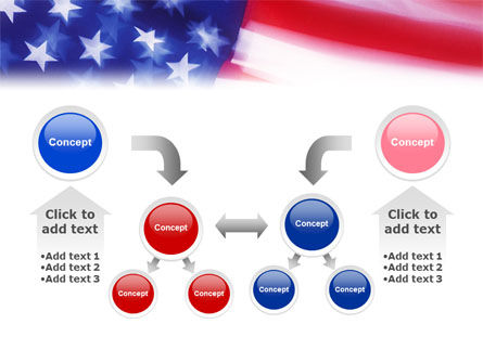 Flag of the United States of America PowerPoint Template Slide 19