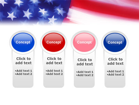 Flag of the United States of America PowerPoint Template Slide 5