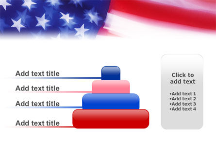 Flag of the United States of America PowerPoint Template Slide 8
