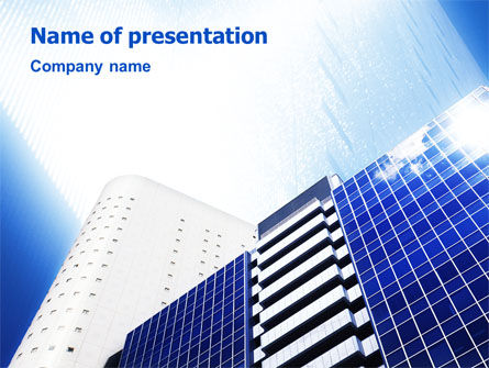 City Construction PowerPoint Template, 01853, Construction — PoweredTemplate.com