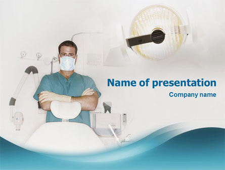 Medical: Dental Medicine PowerPoint Template #01857