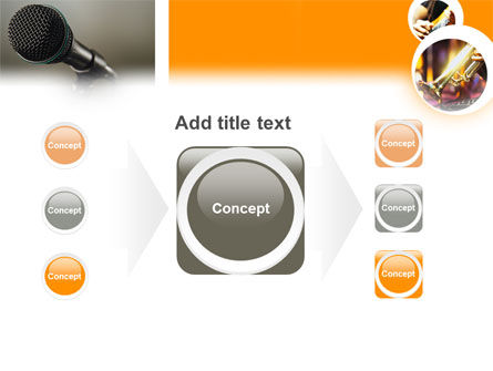 Music Concert PowerPoint Template Slide 17