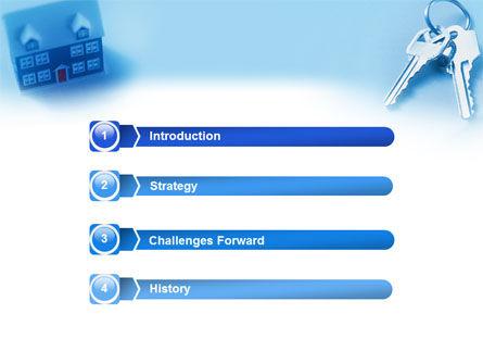 Real Estate PowerPoint Template, Slide 3, 01859, Real Estate — PoweredTemplate.com