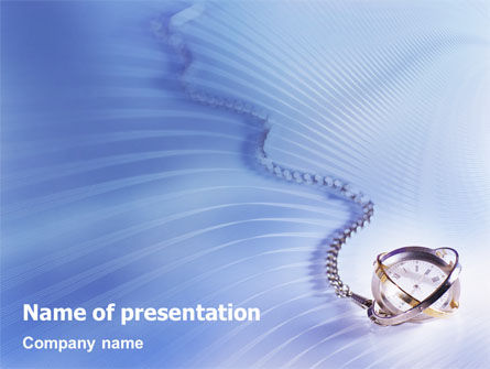Transient Time PowerPoint Template, 01864, Construction — PoweredTemplate.com