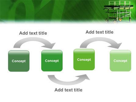 Stretcher PowerPoint Template, Slide 4, 01865, Medical — PoweredTemplate.com
