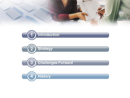 Personal Secretary PowerPoint Template, Slide 3, 01866, Education & Training — PoweredTemplate.com