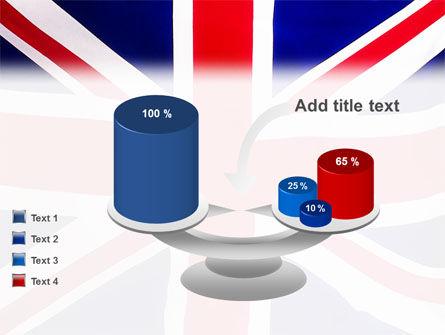 British Flag PowerPoint Template Slide 10