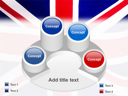 British Flag PowerPoint Template Slide 12