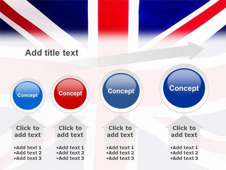 British Flag PowerPoint Template Slide 13