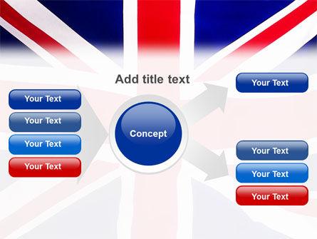 British Flag PowerPoint Template Slide 14