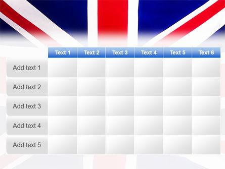 British Flag PowerPoint Template Slide 15
