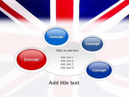British Flag PowerPoint Template Slide 16