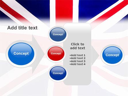 British Flag PowerPoint Template Slide 17