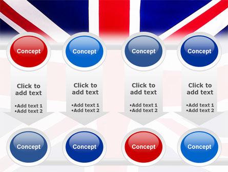 British Flag PowerPoint Template Slide 18