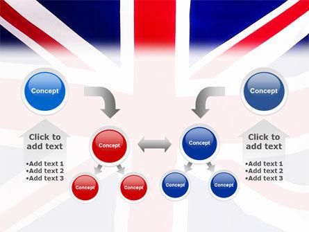 British Flag PowerPoint Template Slide 19