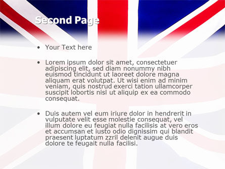 British flag powerpoint template backgrounds 01868 british flag powerpoint template slide 2 toneelgroepblik Choice Image