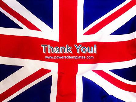 British Flag PowerPoint Template Slide 20