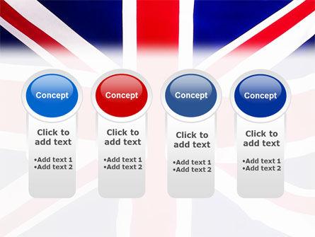 British Flag PowerPoint Template Slide 5
