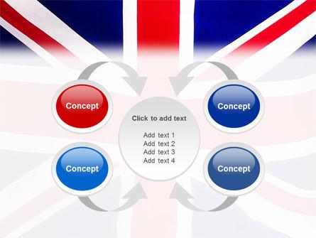 British Flag PowerPoint Template Slide 6