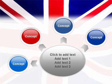 British Flag PowerPoint Template Slide 7