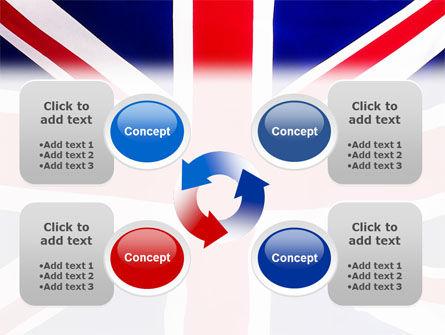 British Flag PowerPoint Template Slide 9