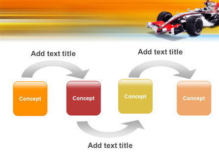 Formula One PowerPoint Template, Slide 4, 01874, Sports — PoweredTemplate.com