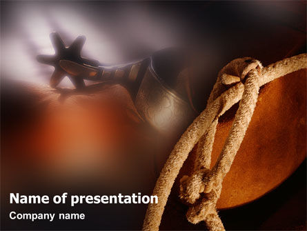 Art & Entertainment: Spur PowerPoint Template #01875
