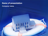 Real Estate: Property Insurance PowerPoint Template #01878