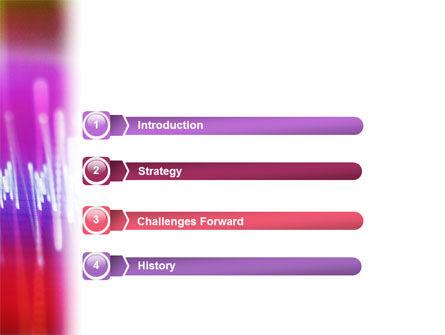 Oscillogram PowerPoint Template, Slide 3, 01885, Technology and Science — PoweredTemplate.com