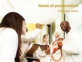 Education & Training: Modèle PowerPoint de théâtre anatomique #01886