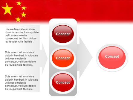 Chinese Flag PowerPoint Template Slide 11