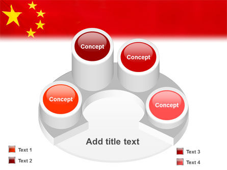 Chinese Flag PowerPoint Template Slide 12