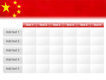 Chinese Flag PowerPoint Template Slide 15
