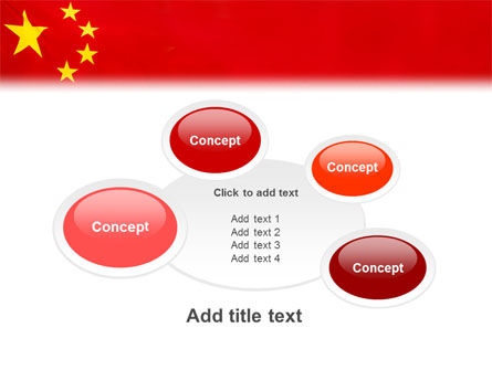 Chinese Flag PowerPoint Template Slide 16