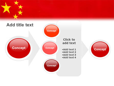 Chinese Flag PowerPoint Template Slide 17