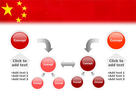 Chinese Flag PowerPoint Template Slide 19