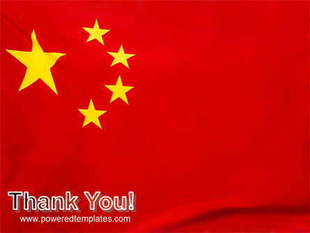 Chinese Flag PowerPoint Template Slide 20